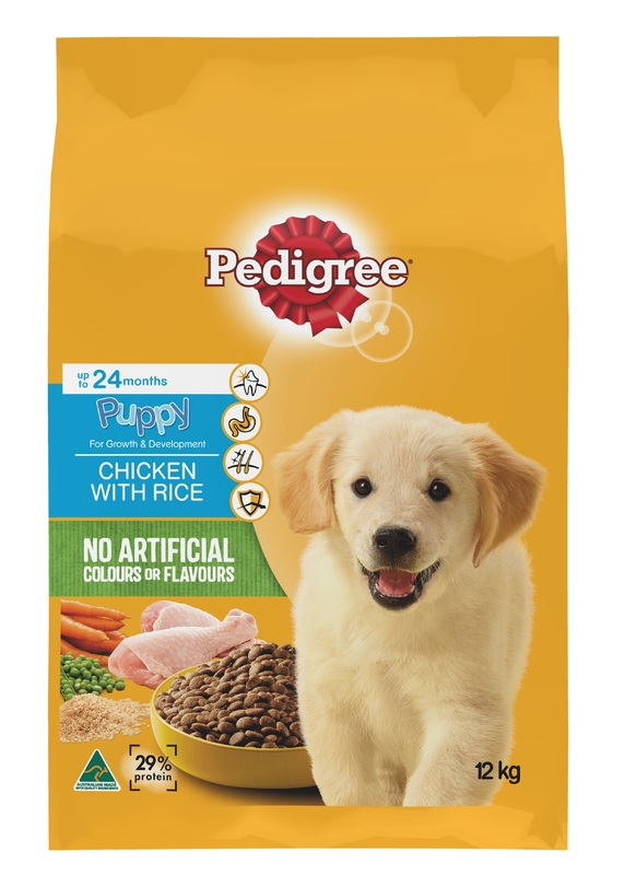 Pedigree Puppy With Chicken and Rice (12kg)