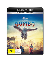Dumbo (2019) on Blu-ray, UHD Blu-ray