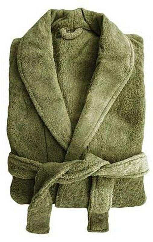 Bambury: Microplush Robe - Olive (L/XL)