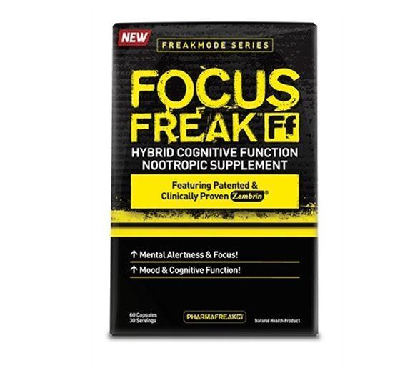 Pharmafreak Focus Freak (60 Caps)