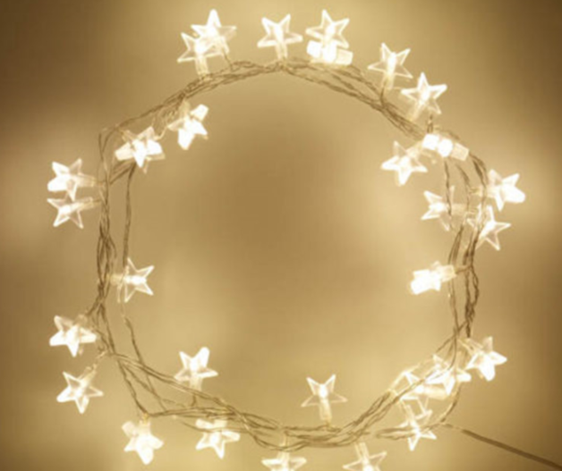 Star Pentacle - 20 LED String Lights