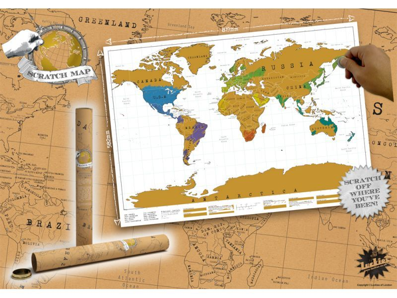 Scratch off world map at mighty ape nz scratch off world map luckies of london image gumiabroncs Images