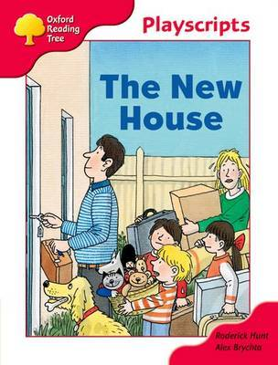 Oxford Reading Tree: Stage 4: Playscripts: The New House by Rod Hunt image