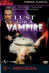 Lust For A Vampire on DVD