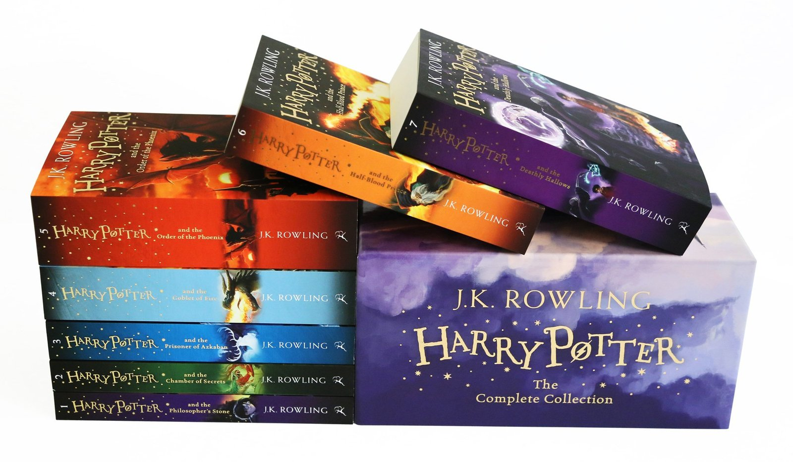 Harry Potter Box Set: the Complete Collection by J.K. Rowling image