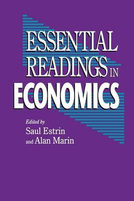 Essential Readings in Economics by Saul Estrin image