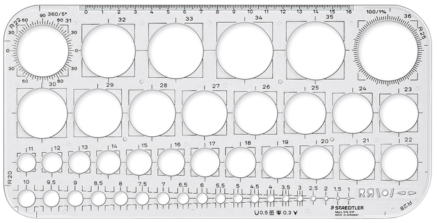 Staedtler Mars Circle Template