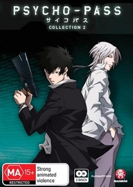 Psycho-Pass - Collection 2 on DVD