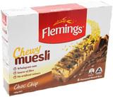 Flemings Chewy Muesli - Choc Chip (180g)
