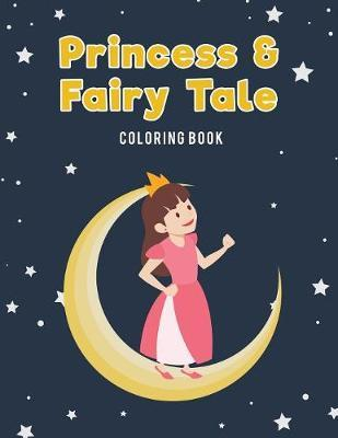 Princess & Fairy Tale Jumbo Coloring Book by Coloring Pages for Kids image