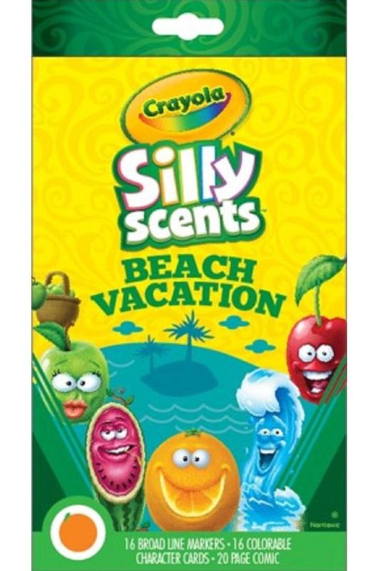Crayola: Silly Scents Gift Set - Beach Vacation