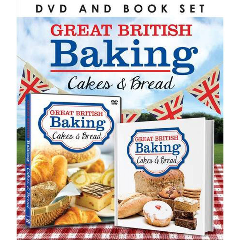 Great British Bake-Off: Cakes and Breads (Book & DVD Set) image