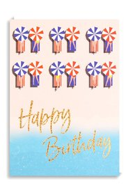 Nineteen Seventy Three: Happy Birthday Loungers - Greeting Card
