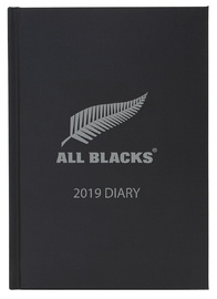Milford 2019 Daily A5 Diary - All Blacks