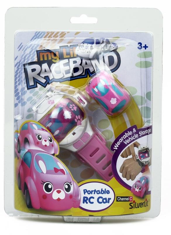 Silverlit: My Lil' Raceband - Pink Bunny