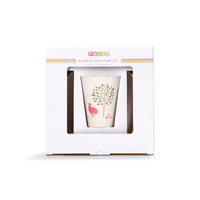 Chirpy Bird Bamboo Meal Set with Cutlery image