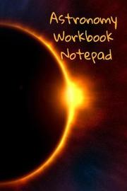 Astronomy Workbook Notepad by Lars Lichtenstein image