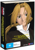Fullmetal Alchemist - The Movie: Conqueror Of Shamballa - Limited Edition (2 Disc Set) on DVD