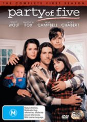Party Of Five - Complete Season 1 (6 Disc Set) on DVD