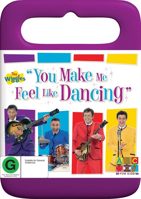 The Wiggles - You Make Me Feel Like Dancing on DVD