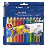 Staedtler Aquarell Coloured Pencils Pkt24