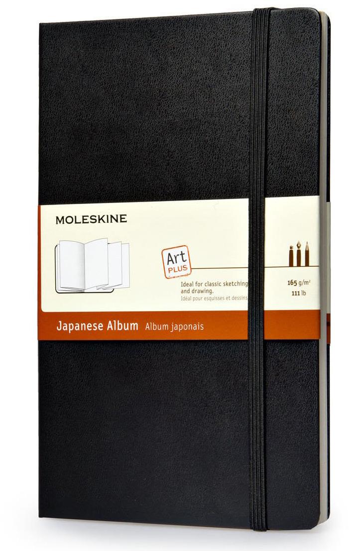 Moleskine Japanese Album (Large, Hard, Black) image