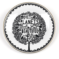 """Rob Ryan 10.5"""" Dinner Plate - Other Planets image"""