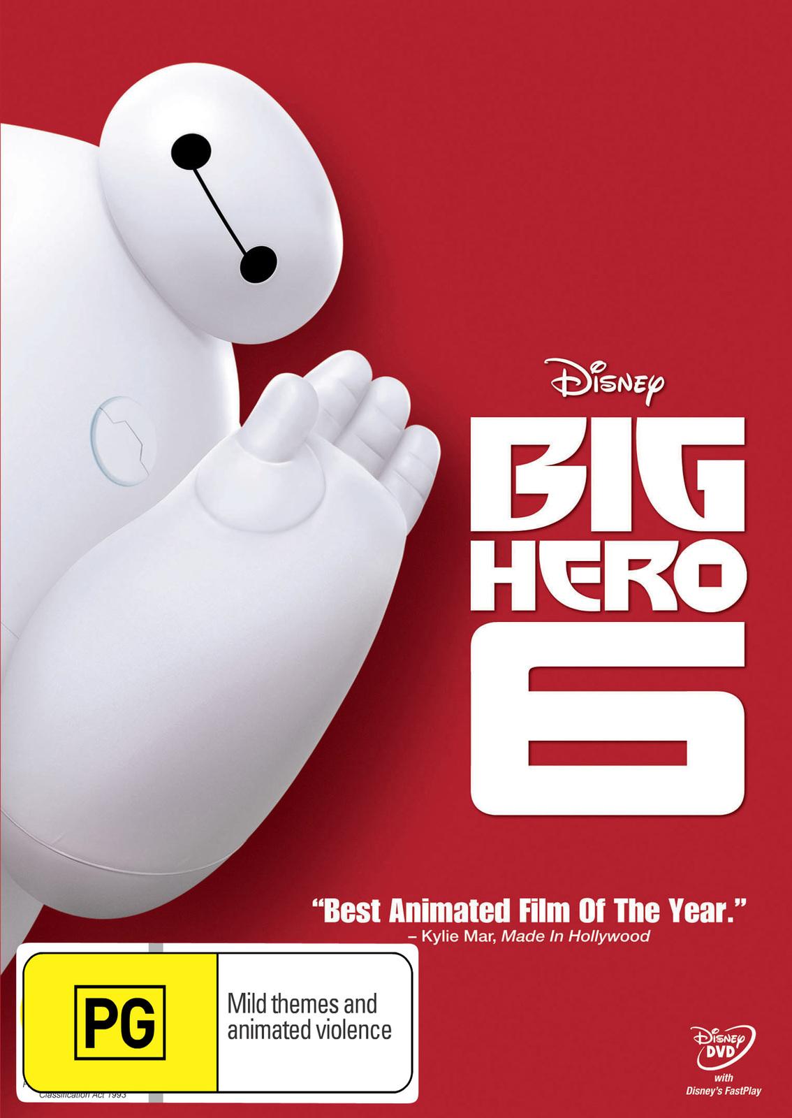 Big Hero 6 on DVD image