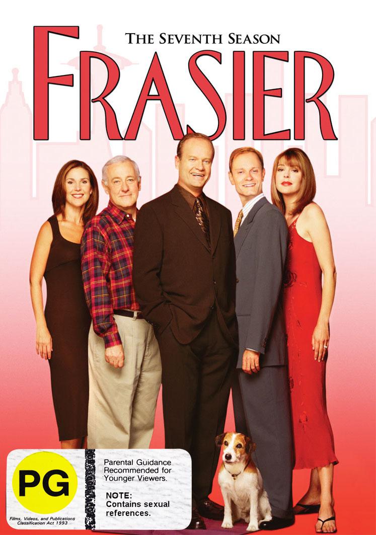Frasier - Season 7 on DVD image