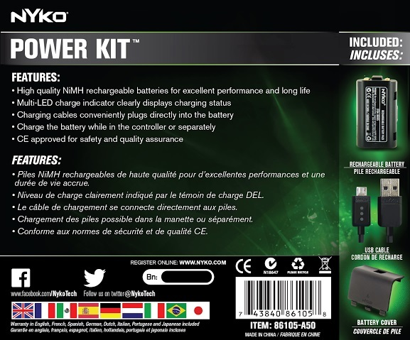 Nyko Xbox One Power Kit for Xbox One image