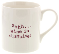 McLaggan Smith: Always Sparkle Coffee Mug - Shhh Wine in Disguise