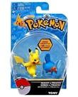 Pokémon: Action Pose Mudkip vs. Pikachu - Figure 2-Pack