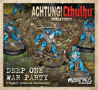 Achtung! Cthulhu - Cthulhu Deep Ones War Party Unit Pack