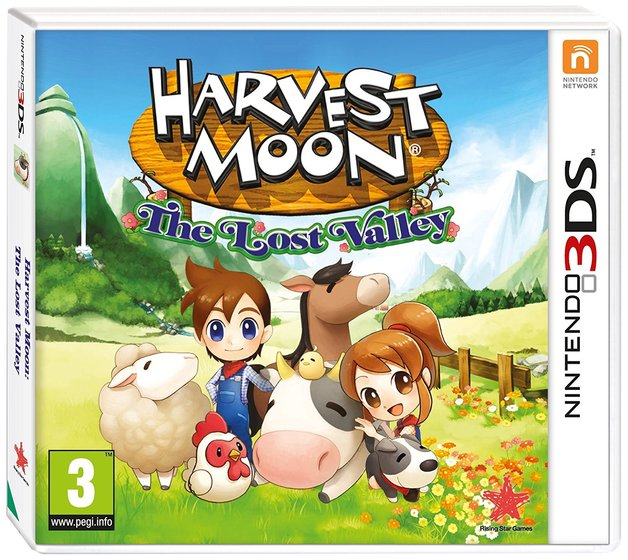 Harvest Moon: The Lost Valley for 3DS