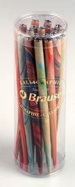 Brause: Marbleized Nib Holder - Assorted Colours image