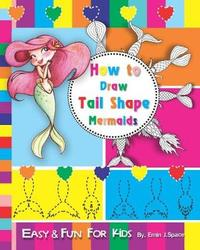 How to Draw Tail Shape Mermaids by Emin J Space
