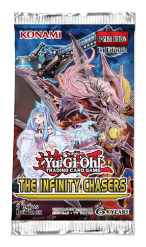 Yu-Gi-Oh! The Infinity Chasers Single Booster