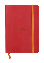 Rhodiarama A6 Softcover Notebook Lined - Poppy