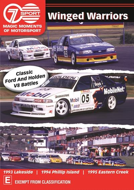 Magic Moments Of Motorsport: Winged Warriors on DVD