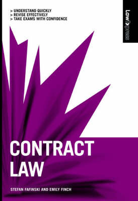 Contract Law by Emily Finch image