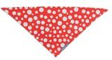 Annabel Trends: Hot Dog Bandana - Polka Dot Red