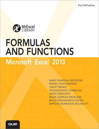 Excel 2013 Formulas and Functions by Paul McFedries