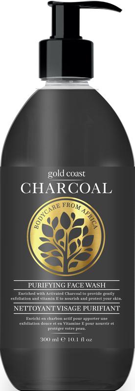 Gold Coast Charcoal Face Wash (300ml)