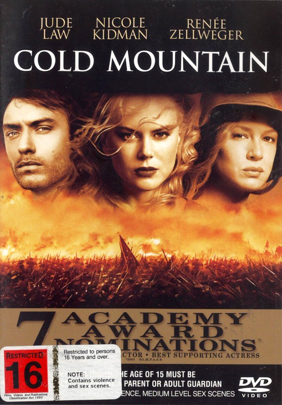 Cold Mountain on DVD image