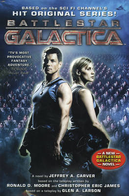 Battlestar Galactica by Jeffrey A. Carver image