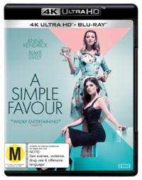 A Simple Favor on UHD Blu-ray