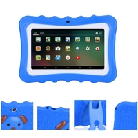 Kids 7-Inch Android Tablet with Protective Case - Blue