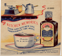 Kitchen Memories: Food and Kitchen Life Through the Ages by Liz Drury image