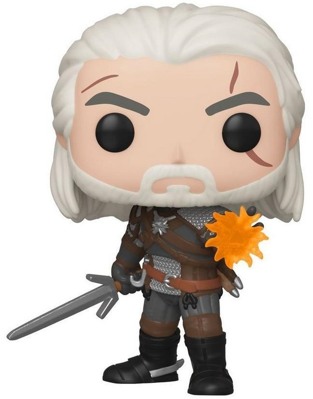 The Witcher: Wild Hunt - Geralt (Glow) Pop! Vinyl Figure