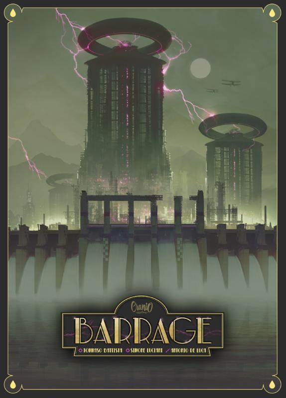 Barrage - Board Game